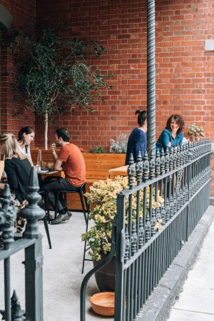 Thornbury, Australia: Outdoor seating