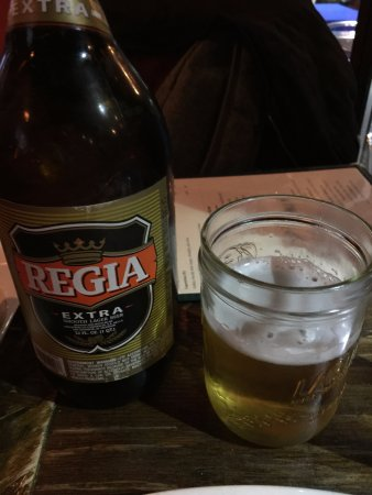 Astoria, NY: Regia Salvadoran beer