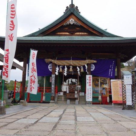 Iwakuni, Japan: 神社の正面です