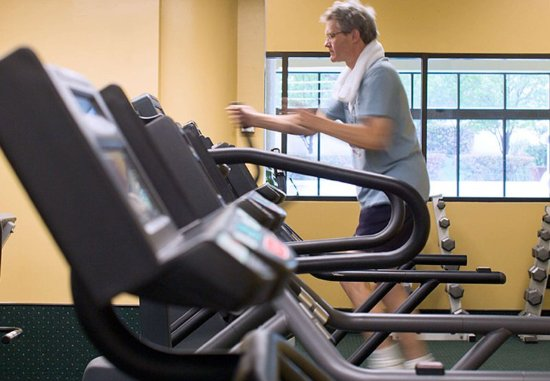 Albuquerque Marriott: Fitness Center