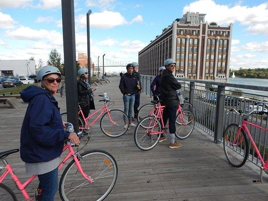 Beyond the Bike Lanes Bike Tour: old montreal port