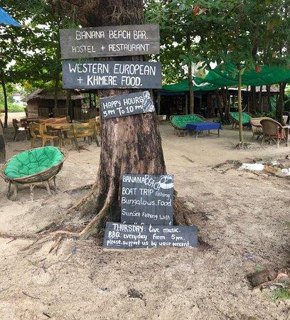 Banana Beach Bungalow & Restaurant : Hier lässt es sich gut aushalten - Luxus für die Sinne