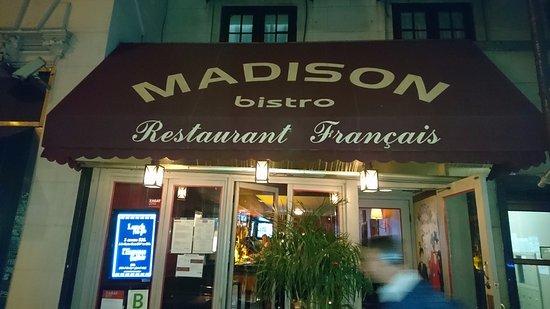 Madison Bistro: 店構え