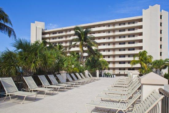 Hutchinson Island, FL: Sun deck with Phase 1 exterior.