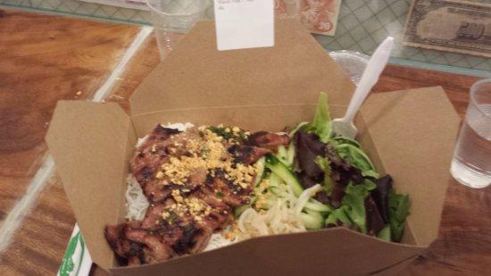 White Plains, Nowy Jork: Marinated Slice Pork