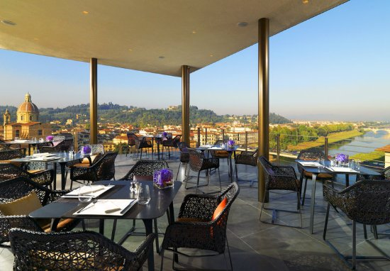 The Westin Excelsior Florence: SE·STO on Arno Terrace