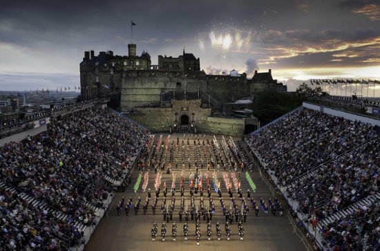 Royal Military Tattoo, visite...