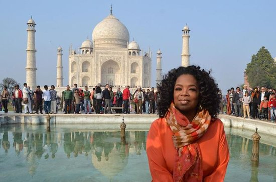 Am selben Tag Taj Tour mit...