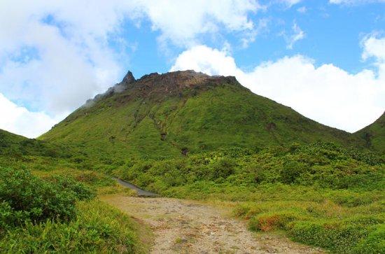 Randonnée au volcan de la Soufrière