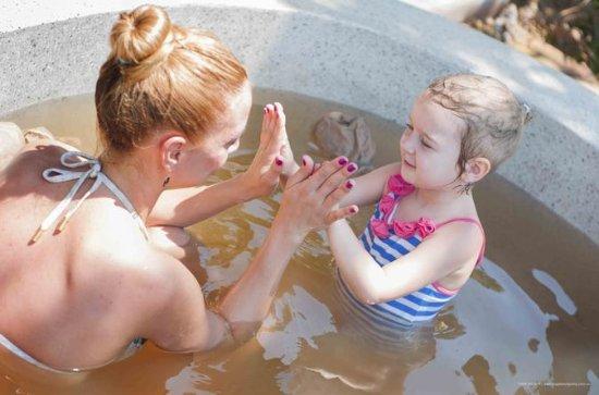Private hot-mineral mud bath in Nha Trang