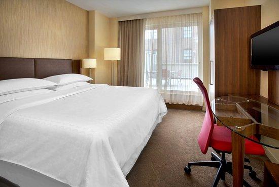 Sheraton Tribeca New York Hotel: Patio King Room