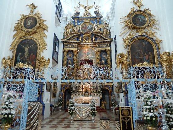 Bergheim, Österreich: Main altar built in 1674