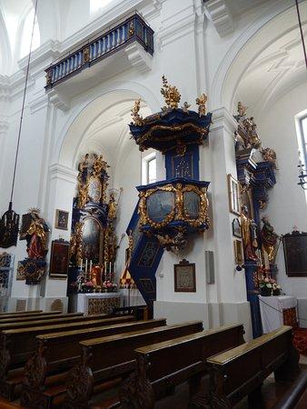 Bergheim, Österreich: Interior of Basilica Maria Plain