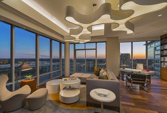 The Woodlands, Teksas: Presidential Suite Living Room