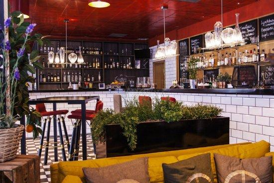 Clarion Hotel Gillet: Bar