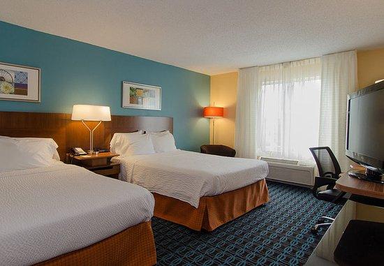 Hartsville, SC: Queen/Queen Guest Room