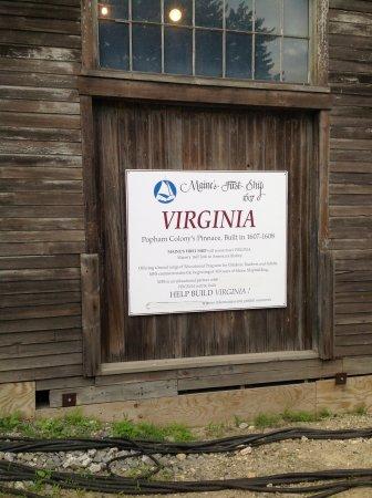 Virginia ship rebuilding, Bath, Maine