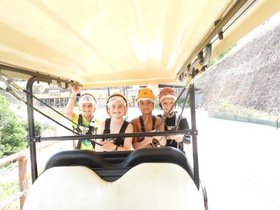Hang Dong, Tailandia: go go go - Zipline - Grand Canyon Water Park