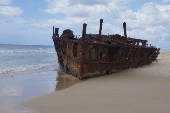 Hervey Bay, Australia: Historic ship wreck