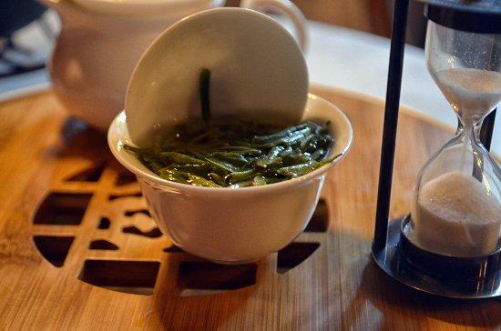 Bang Lamung, Thailandia: Chinese green tea