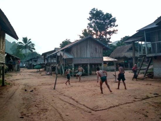 Luang Namtha, Laos: Village