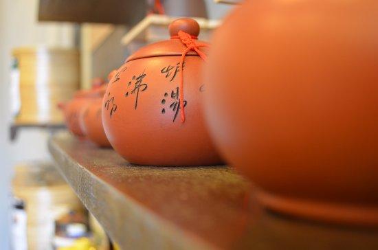 Bang Lamung, Thailandia: Clay tea pots