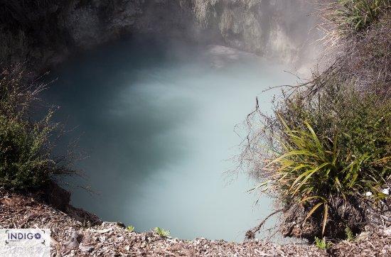 懷奧塔普地熱世界照片
