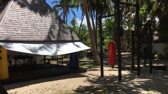 Leleuvia Island Resort: Island Indoor / Outdoor Gym