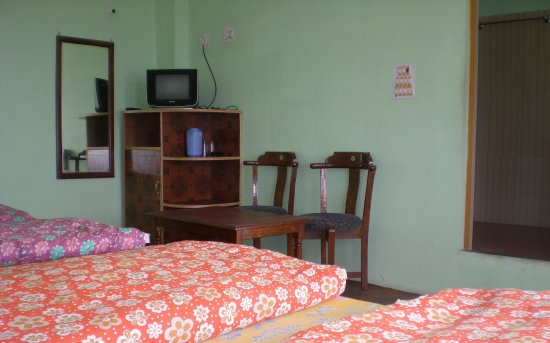 Chaukori, India: Four bedded room