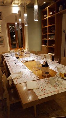 Solo Ciccia: la sala ove si cena in convivialità assoluta