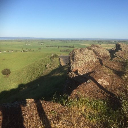 Colac, Australia: A View From The Red Rock