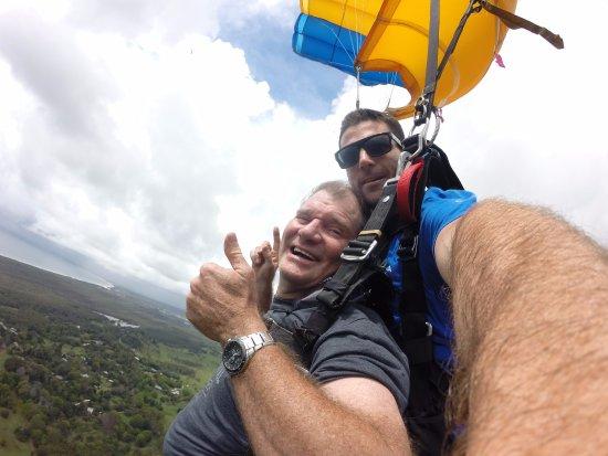 Tyagarah, Australia: Lovin' the View despite the clouds