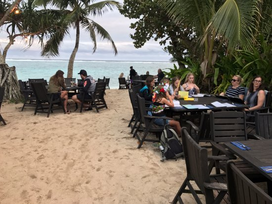 تيتيكافيكا, جزر كوك: Beautiful location