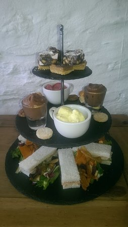 Ardrishaig, UK: Afternoon tea