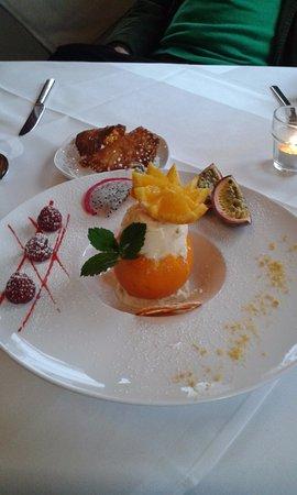La Calamine, Belgien: Das Dessert