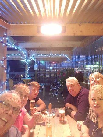 Bamber Bridge, UK: Family meal