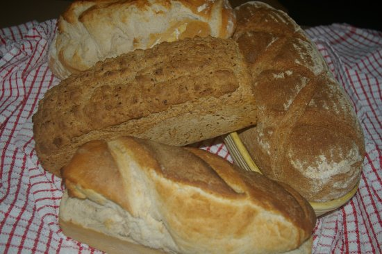 Knighton, UK: John makes bread every day - including sourdough!