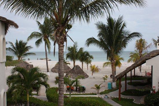 Hotel Puerto Holbox: vista desde la habitacion 8