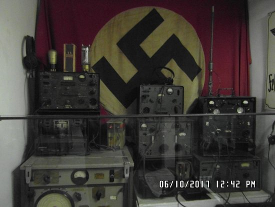 German Occupation Museum: German Radio Equipment