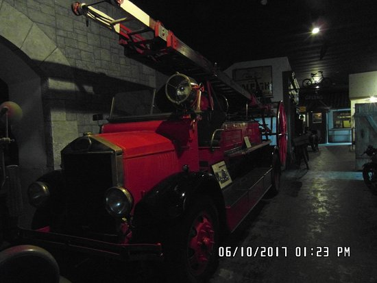 German Occupation Museum: Old Fire Engine