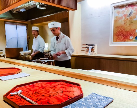 The restaurant and assistant chefs