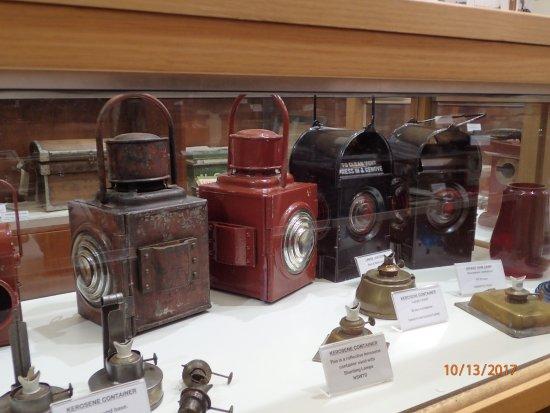 Wagga Wagga, Australie : railroad lanterns