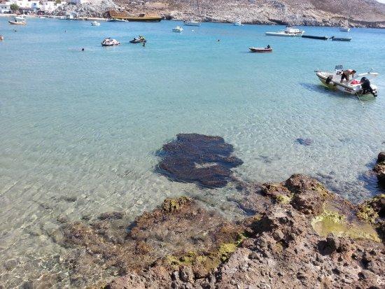 Pserimos, กรีซ: dalla stradina