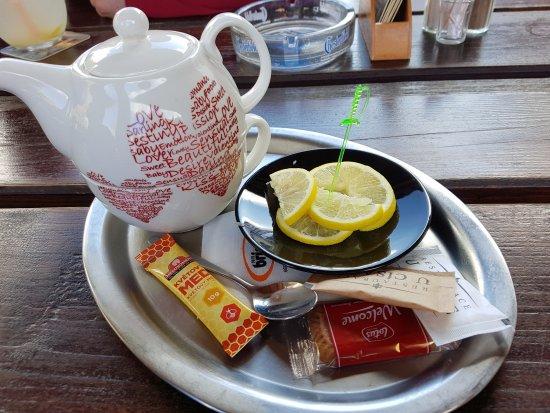 Restaurace U Cisare: čaj