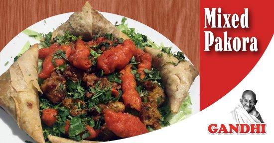 Gandhi Indian Tandoori Restaurant: Mixed Pakora