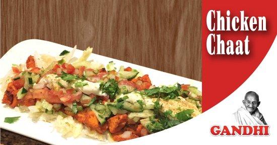 Gandhi Indian Tandoori Restaurant: Chicken Chaat