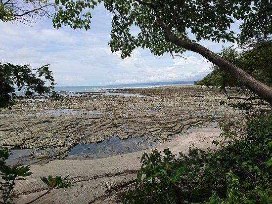 Mal Pais, Kostaryka: Vue plage