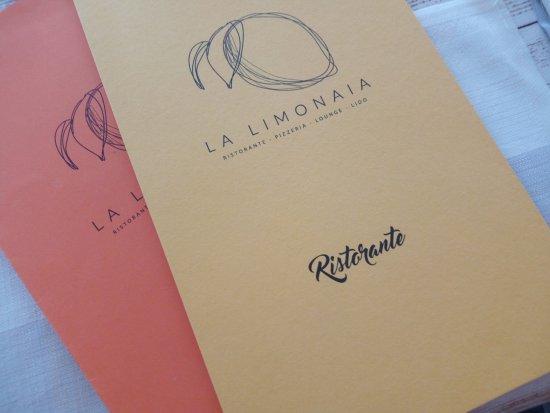 Merone, Italia: menu