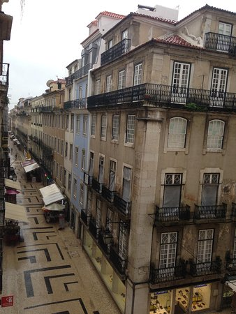 Hotel Santa Justa: Room view