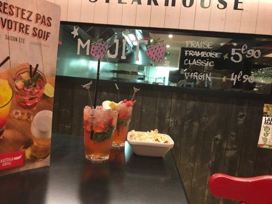 Choisey, Francia: On y déguste des bons mojito la qualité de la viande est excellente aire de jeux pour les enfant